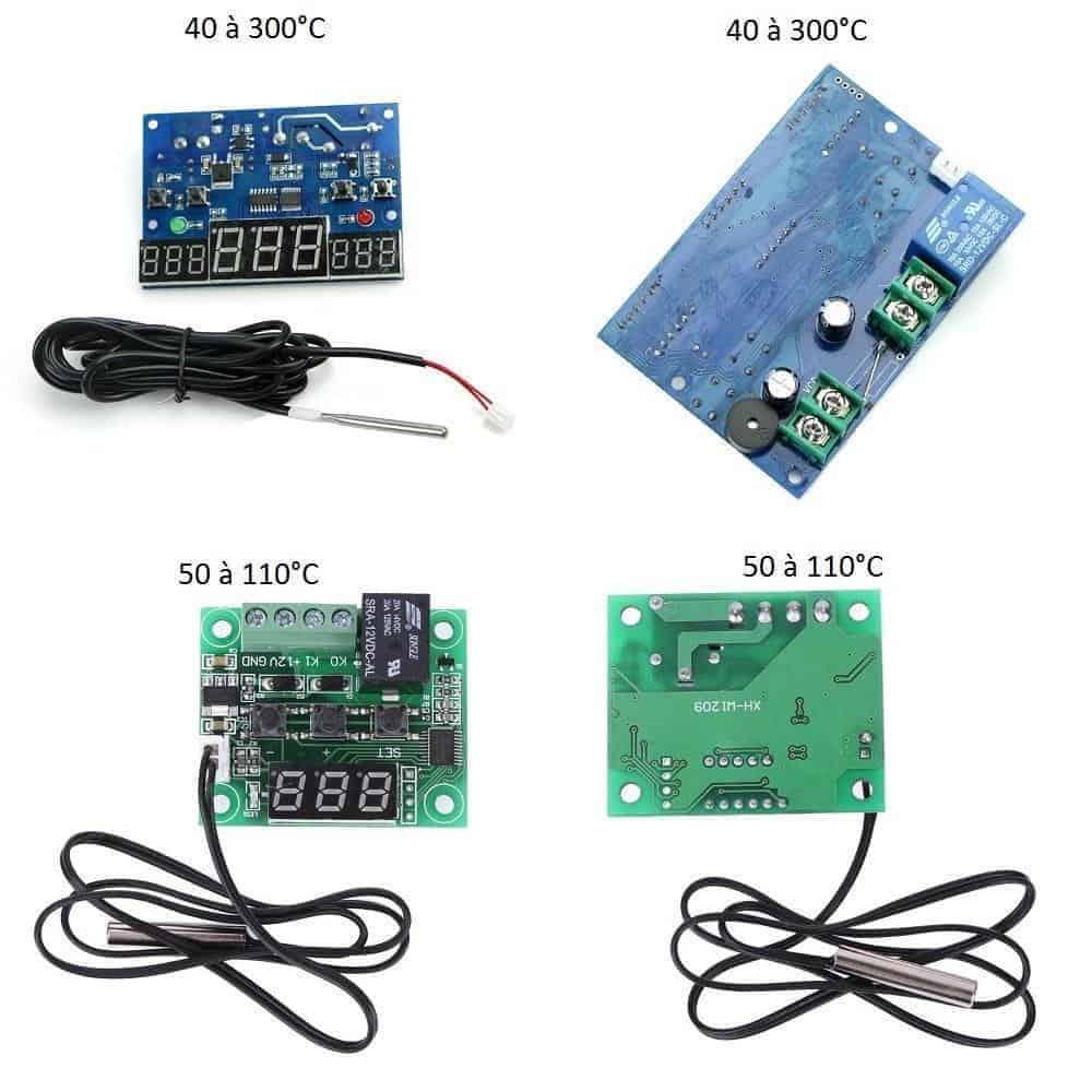 Thermostat  de contrôle de température