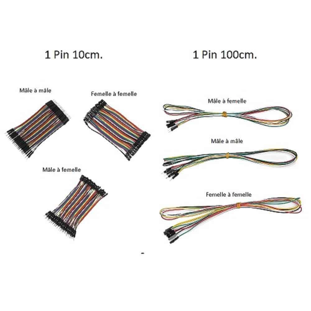 Câble 1 Pin