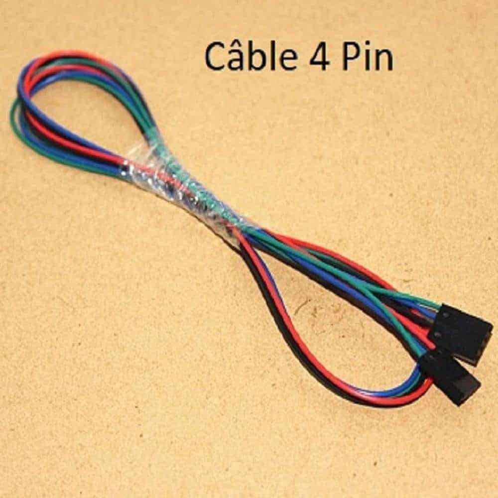 Câble 4 Pin
